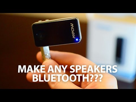 Mpow Bluetooth Receiver 4.0  – 2016 Unboxing and Review   Make any speakers Bluetooth!
