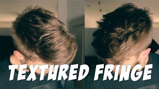 TEXTURED FRINGE | How To Style The Textured Fringe Hairstyle, Hanz De Fuko, Pete And Pedro Salt