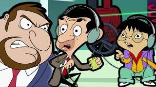 Bouncer Bullies Bean   Funny Clips   Cartoon World