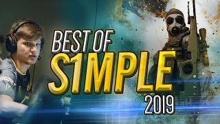 The GOD Of CS:GO! BEST OF s1mple! (2019 Highlights) - CS:GO