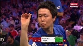2018 World Cup of Darts Round 1 Austria vs Japan