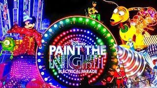 Farewell Paint the Night Parade - FULL PARADE Disney 2018