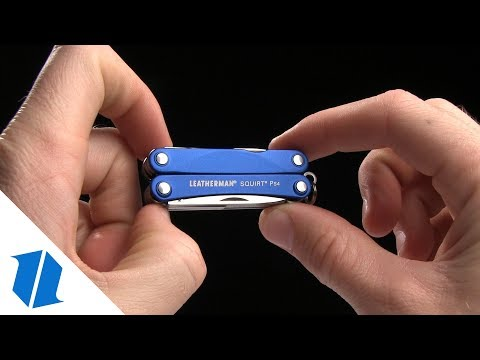 Leatherman Squirt ES4 Multi Tool w/ Blue Handle (9-in-1) 831201