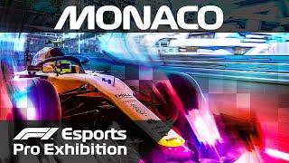 F1 Esports Pro Exhibition Race! | Monaco