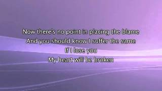 YouTube - Madonna - Frozen, Lyrics In Video