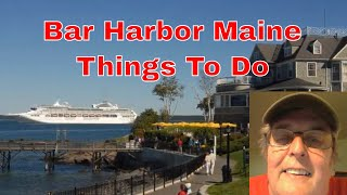 Bar Harbor Maine Things To Do
