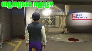 GTA 5 - How to Enter The GOLDEN VAULT And Get Unlimited Money (Secret Money Truck)