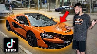 Hater DESTROYED My New McLaren & posted it on TIK TOK...