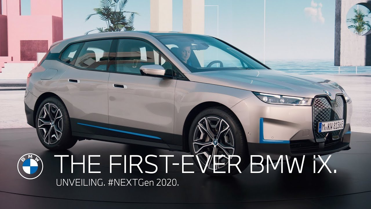 Unveiling: The first-ever BMW iX