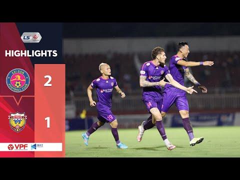 Highlights   Sài Gòn FC - Hồng Lĩnh Hà Tĩnh   Đẳng cấp của Geovane