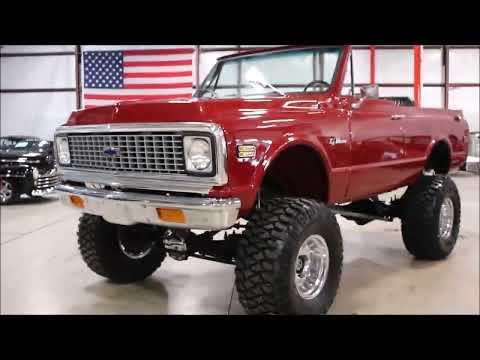 1972 Chevy k5 Blazer red