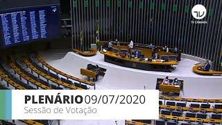 Plenário - Discussão e votação de propostas - 09/07/2020 13:55