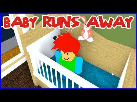 Baby Freddy runs away from Bad Mommy Karina