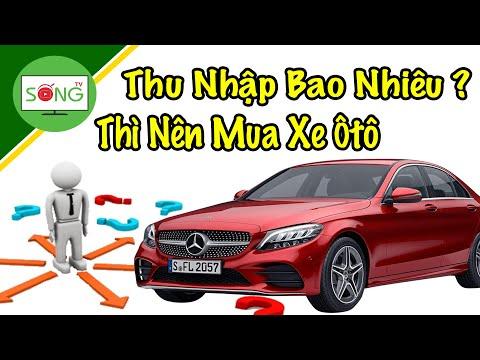 Nguồn Thu Nhập Bao Nhiêu Thì Người Việt Nên Mua Xe Ô Tô?