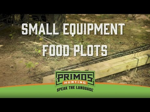 Small Equipment Food Plots video thumbnail