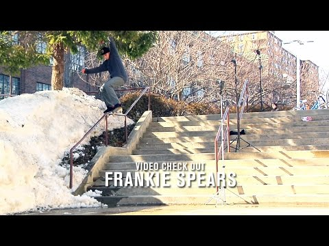 Image for video Video Check Out: Frankie Spears - TransWorld SKATEboarding