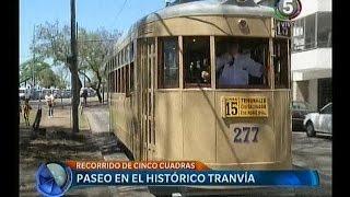 preview picture of video 'Tranvía Histórico Número 277 - Recorridos realizados en el Día del Rosario, 7 de Octubre de 2014'