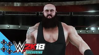 WWE 2K18: Braun Strowman and Seth Rollins Entrance Videos!