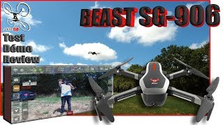 ZLRC SG-906 beast - Review Test Démo - Pas mal ... Mais pas simple !