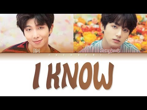 BTS JUNGKOOK & RM - I KNOW (알아요) (Color Coded Lyrics Eng/Rom/Han/가사) Mp3