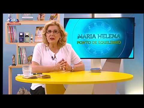 Maria Helena reza a Santo Agostinho