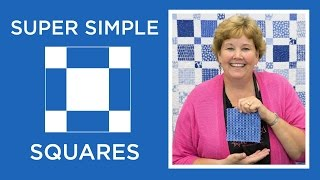 Make A Super Simple Squares Quilt With Jenny Doan Of Missouri Star! (Video Tutorial)