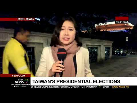 Tsai Ing-wen declares victory in Taiwan's presidential elections