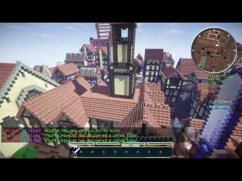《Minecraft》玩家自製進擊的巨人遊戲