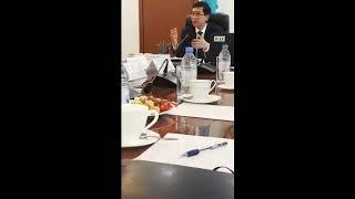 Білім және Ғылым министрі бірқатар белсенді мұғалімдермен кездесуі