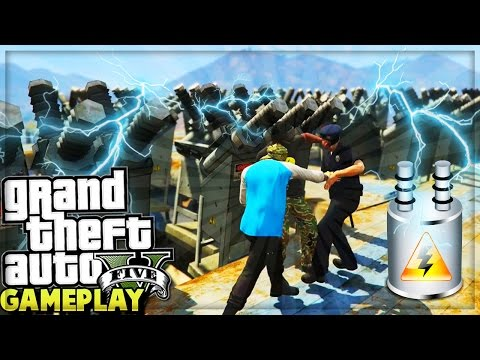 GTA 5 Online ELECTRIC SHOCK SKY ARENA GAMEPLAY! (GTA 5 Funny Moments)