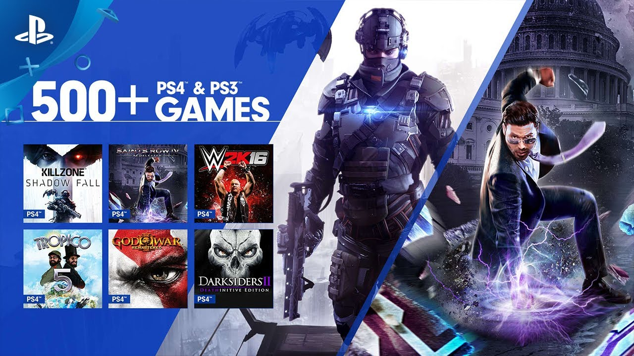 PS4 Games Added To PS Now, Library Hits 500+