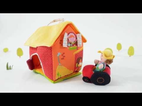 Lilliputiens красная Шапочка: музыкальная мягкая игрушка-копилка