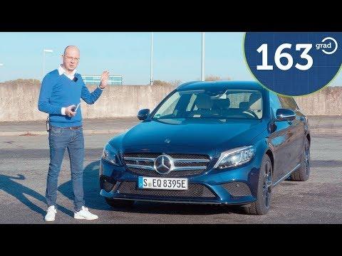 Mercedes C300de Test - Diesel Plugin Hybrid mit E-Kennzeichen - T-Modell - Deutsch