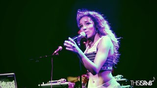 """Tinashe Performs """"2 On,"""" """"Vulnerable"""" & More in Brooklyn, NYC"""