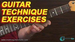GUITAR TECHNIQUE: Exercising Weak Fingers