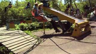 в парке с детьми Темиртау