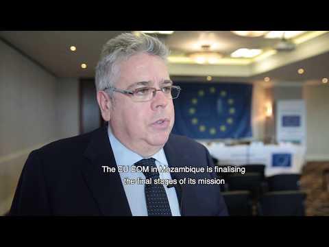 MOE UE Moçambique 2019: Apresentação do Relatório Final com 20 recomendações