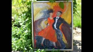 Lenes paintings. (a friend of mine)
