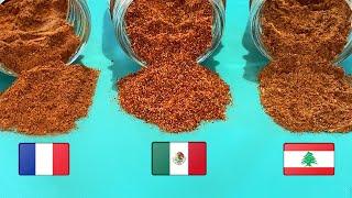 Homemade Seasoning Blends: Fajita Seasoning    French 4 Spice Blend   Lebanese 7 Spice Blend