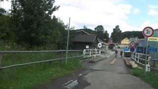 preview picture of video 'Grenzübergang Deutschgeorgenthal Cesky Jiretin Georgendorf Border Crossing'