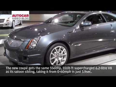 Detroit Motor Show: Cadillac CTS-V Coupe by autocar.co.uk