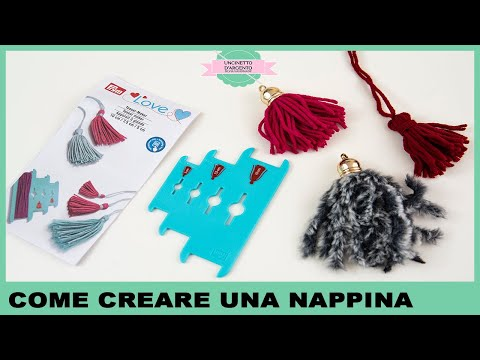 How To Make Tassel Tutorial Fast And Easy Uncinetto Argento