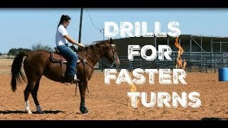 DRILLS FOR FASTER TURNS