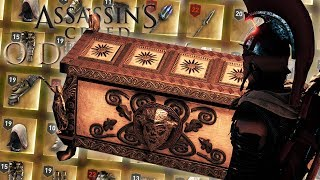 ALL LEGENDARY CHESTS IN THE GAME! Assassin's Creed Odyssey #10
