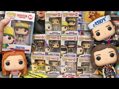 Stranger Things Season 3 Funko Pop Hunting!