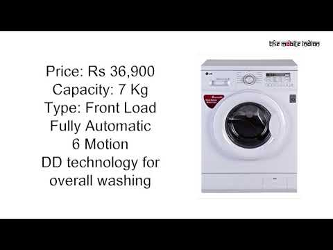 Top 5 Washing Machines in India, October 2017
