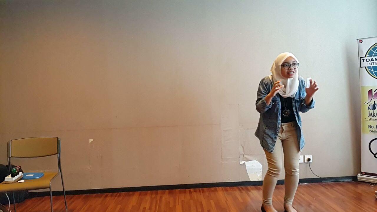 Benazir Syahril, ACB, ALB. Sesi Edukasi: Kurang itu Aset. Kurang itu Lucu