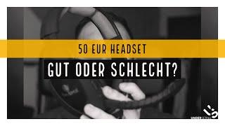 HEADSET FÜR 50 EUR ?! Wie gut ist es ?! EasySMX Wireless Headset