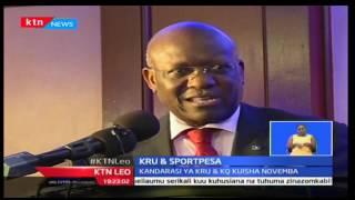 KTN Leo: Sportpesa ndiye  wadhamini wapywa wa Shirikisho ya KRU kwa kandarasi ya miaka mitano
