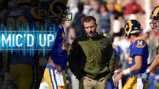 """Sean McVay Mic'd Up vs. Seahawks """"Get the Halle Berry!"""" 